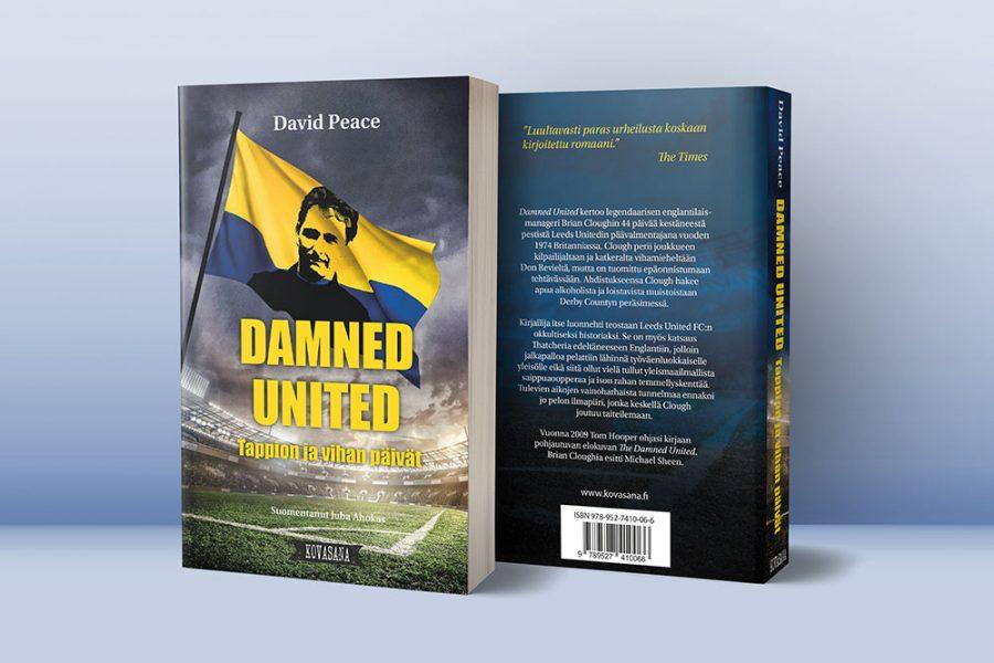 Kirjan kannet ja taitto: Peace: Damned United / Kovasana