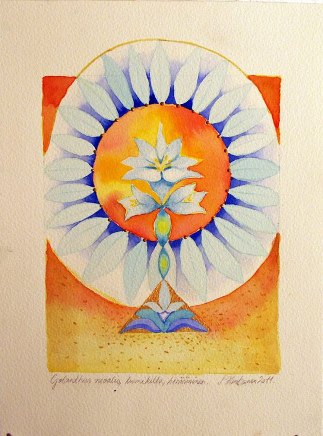 Gelanthus nivalis, Lumikello, herääminen