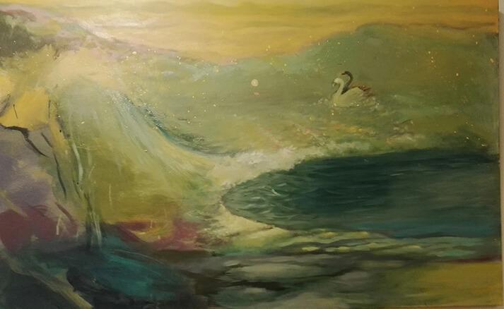 Sarjasta veden maa, loputon meri, 2016, 110X70